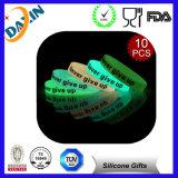 Цветастым браслет силикона выбитый Wristband вдохновляющий