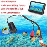 O mundo 2016 do preço de fábrica o 520tvl o menor Waterproof a mini câmera do CCTV para a inspeção subaquática com 8 luzes do IR