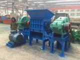 기계, 슈레더 기계, 플라스틱 기계를 재생하는 타이어