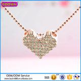 Colgante collar de diamantes de Guangzhou Boosin Moda joyería de la boda 2016