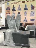 Banco dei memoriali di angelo del granito della Cina
