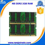Goede Volledige Compatibele DDR2 2GB Laptop 128MB*8 Memori van de Arbeidsvoorwaarde