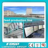 Líneas de montaje de procesamiento por lotes por lotes autos de la alimentación 10t/H para las granjas Breeding