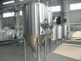 O tanque de fermentação da cerveja usou-se