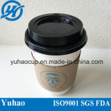 PE Coating (YH-L36)를 가진 6oz Disposable Coffee Cup