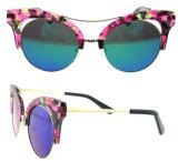 2016 lunettes de soleil polarisées neuves de plot réflectorisé de modèle pour des lunettes de soleil d'usager de dames