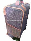 Sac de bagage de valise de voyage de roulement de chariot à roues par enfants à dessins animés