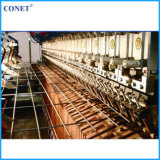 해외 Service 가득 차있는 Automatic Reinforced Wire Mesh Panel Welding Machine (선 철사와 엇갈린 철선 5-12mm를 가진 HWJ3200)