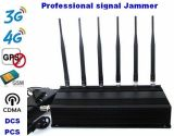 Señal Jammer GPS G/M 3G 4G Cellphone Signal Jammer 15W los 60m 6band