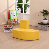 A venda quente caçoa o sofá com o otomano para a mobília do jardim de infância