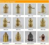 Supporto chiaro Pendant della lampada del metallo dell'annata dello zoccolo del partalampada d'ottone E14