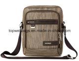 Forma do desenhador que costura o saco de ombro lavado do lazer da lona