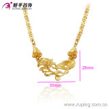 Oro-Plated Necklaces di Xuping Elegant 24k di modo con Flower in Environmental Copper 42711