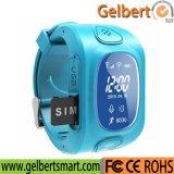 Het Drievoud die van Gelbert Y3 GPS/GSM/WiFi het Slimme Horloge van Jonge geitjes GPRS voor Gift plaatsen