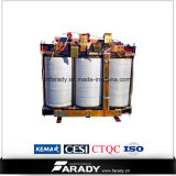 3 transformador Oil-Immersed da distribuição da energia eléctrica Dyn11 da fase