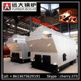Le charbon de grille fixe de Dzh a allumé la chaudière à vapeur de 2 tonnes