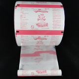 Конфета попкорна упаковывая пластичную пленку крена мешка еды