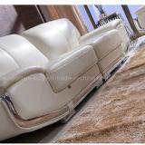 O sofá de couro moderno ajustou-se (2021#)