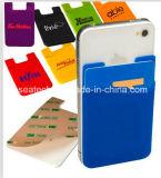 カスタムシリコーンゴムのスマートな電話ブックポケット