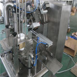로타리 플라스틱 컵 충전물 및 모자를 씌우는 기계 (RZ-R)