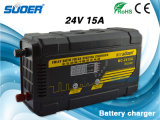 Chargeur de batterie de remplissage entièrement automatique de l'Afficheur LED PWM du pouls 15A 24V de Suoer (MC-2415A)