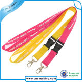 2.0*90cm Low Price Top Quality Polyester Printed Phone /ID Card Lanyard