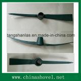 Pioche enduite et pioche de poudre en acier ferroviaire agricole d'outil de pioche