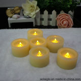 Flameless giallo Mini LED Wax Candle con Timer Function