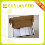 cartão sem contato do PVC do espaço em branco de 13.56MHz Cr80 com listra magnética