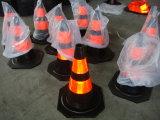 cône en caoutchouc de circulation réutilisé par 28inch avec le collier r3fléchissant