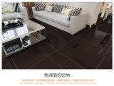 Telha de assoalho cerâmica da porcelana preta branca super da telha para a casa Decoration600*600