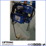 Hijstoestel van de Keten van de Snelheid van Liftking 5t het Dubbele Elektrische met Elektrisch Karretje (ECH 05-02D & et-05D)