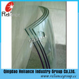 4つの緩和されたガラスは/セリウムISOのガラス/安全ガラスを強くする