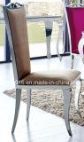 가정 가구를 위한 의자를 식사하는 유럽식 스테인리스 직물