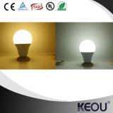 E27 B22 3W-15W refroidissent l'ampoule blanche de DEL