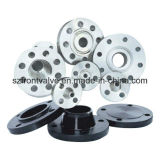 ANSI B16.5, B16.47A, B16.47b, flanges do Sp 44 de Mss