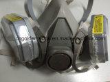 Лицевой щиток гермошлема вздыхателя 6200 маски OEM половинный без 3m