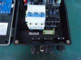 Cadre de contrôle de pompe de gavage avec le transmetteur de pression (signal 0.5-4.5analog)