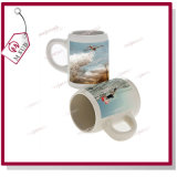 250ml Custom Logo Printed Sublimation Stoneware Beer Mug