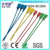 Couvercles réglables de plastique de transport de fret de ligne aérienne de couleur verte (pp)
