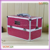 Patterns Pedra Simples Estilo Aluminum Cosmetic Case (SACMC124)