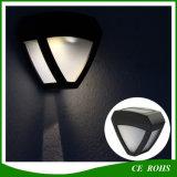 Lámpara de pared decorativa del pasillo del LED solar hacia fuera Luz impermeable de la puerta