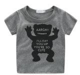 Ternos da forma do bebê com t-shirt e calças na roupa das crianças