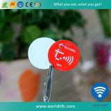 Etiqueta de cobre do adesivo RFID NFC de ISO14443A Paper13.56MHz Ntag213