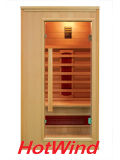 Pièce de luxe de sauna d'infrarouge lointain du modèle 2016 neuf pour 1 personnes (SEK-AP1)