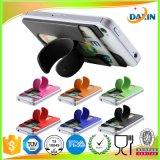 Le support collant coloré de téléphone mobile de silicones Touchent-U le stand de téléphone cellulaire de silicones