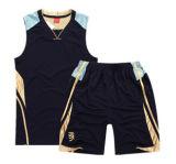 Uniforme sublimado aduana reversible de Jersey del baloncesto de la tela de acoplamiento del equipo