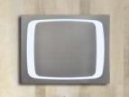 High-End de Spiegel van het Scherm van de Aanraking van het Metaal met Licht voor Badkamers (lz-051)