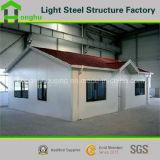 Prefabricated 집 디자인 두 배 지면 조립식 움직일 수 있는 별장