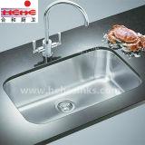 18 Anzeigeinstrument-einzelne Filterglocke-Küche-Wanne mit Cupc Bescheinigung, Stab-Wanne (8047)